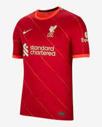 Liverpool FC 2021/22 Stadium Home Herren-Fußballtrikot. Nike BE