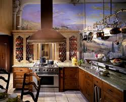 Mediterranean Kitchen Decor Tuscany Kitchen Designs Kitchen Mediterranean With Custom Cabinets