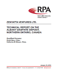 Report Cover Page Inspiration Zenyatta Zenyatta's PEA Conceptual Mine Layout And Technical Report