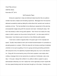 evaluation essay pdf format  printable self evaluation essay sample