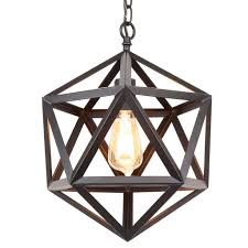 black metal chandelier. Kira Home Trenton 16\ Black Metal Chandelier N