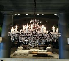 vaille crystal chandelier rococo iron and crystal chandelier restoration hardware home regarding beauteous restoration hardware chandeliers