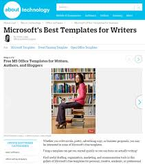 office microsoft templates 8 free microsoft office templates for writers cindy grigg