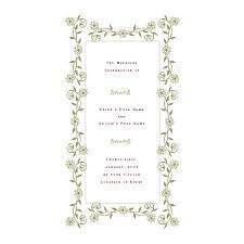 Free Wedding Program Templates: De-Stress Your Wedding Planning via Relatably.com