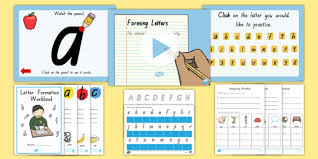 Queensland Cursive Alphabet Chart Queensland Letter Formation Resource Pack Writing