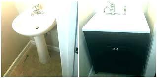 replacing bathroom vanity. Installing Bathroom Vanity New A . Replacing