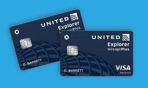 united explorer credit card 2020 review