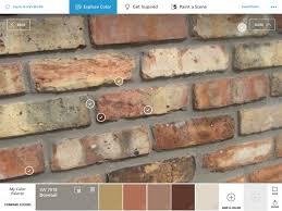 using the colorsnap app to pick paint colors
