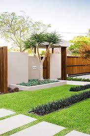 warm minimalist landscape design in