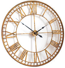 Small Picture Gold wall clocks uk