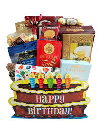featured gift baskets the birthday cake box