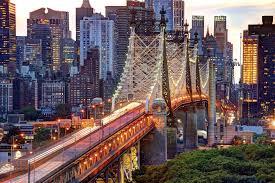 new york city new york nyc usa manhattan queensboro bridge east river new york manhattan united