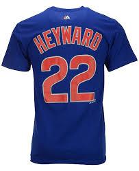 Mens Jason Heyward Chicago Cubs Player T Shirt