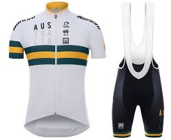 Team 2017 Jersey Most Set Cycling Country - And The Bib Shorts Australia Sets White Popular Cheap