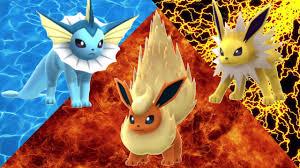 Pokemon GO Vaporeon VS Jolteon VS Flareon - YouTube