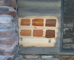 exterior stains for log homes. staining-options2 exterior stains for log homes o