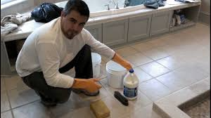 Kitchen Floor Grout Cleaner Cleaning Floor Grout Youtube