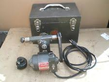 tool post grinder. dumore tool post grinder model 11-011 with metal storage box e