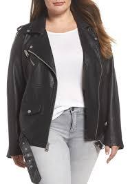 levi s oversize faux leather moto jacket plus size