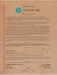 Stitch Fix Notes S 1 A