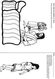 Knutselwerkje Dochtertje Van Jairus Bible Craft Jairus Dau