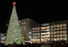 2017 Macy\u0027s Great Tree Lighting | Union Square | Funcheap