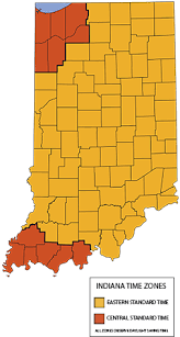 Time Zones Visit Indiana
