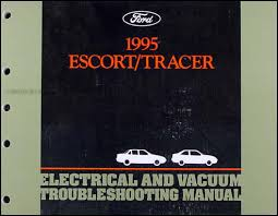 1995 ford escort and mercury tracer electrical troubleshooting manual Mercury Outboard Wiring Schematic Diagram 1984 Mercury Tracer Wiring Diagram #11