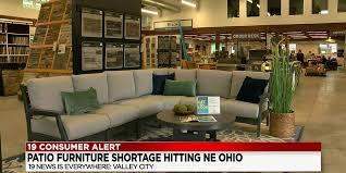 nationwide patio furniture shortage