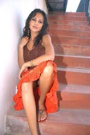 Pavitra punia hot cleavage show in backless saree. South Indian Actress Hot Cleavage Photos