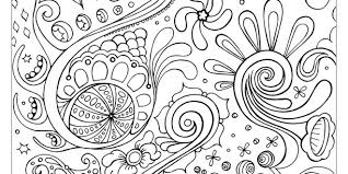 Small Picture Pattern Coloring Pages Free Printable Enjoy Coloring Abstract