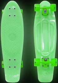 "<b>Скейтборд Y-SCOO Big Fishskateboard</b> GLOW 27"" RT винил 68 ..."