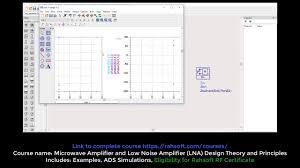 Lna Design Using Ads Tutorial Power Calculation Using Advanced Design System Ads Keysigh Tutorial S Parameter And Phase Simulation