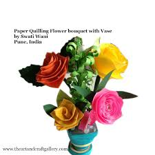 Paper Flower Pots Paper Quilling Flower Pot