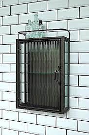 metal bathroom wall storage