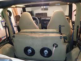 jeep wrangler speaker wiring diagram images jeep wrangler rear subwoofer