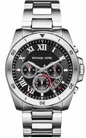 men s michael kors brecken chronograph watch mk8438