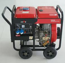 small portable diesel generator. Brilliant Generator Bison China BS6500dce H 5kw 5kVA 1 Year Warranty Small Portable Diesel  Welding Generator 3 Phase Inside E