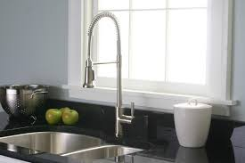 Professional Kitchen Faucet Kitchen Bar Faucets Pull Down Brushed Polished Chrome Semi