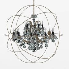 foucault s orb crystal chandelier from restoration