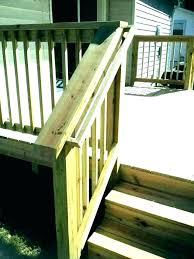 outdoor wood stair railing outdoor stair rail railings for outside stairs porch stair railing ideas best outdoor wood stair railing