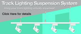 installing track lighting. Suspended Track Lighting Replacing Installing Total Lights Power Fittings C
