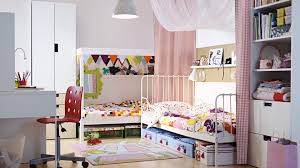 Shared Bedroom Furniture Bedroom Furniture Ideas Ikea Pretty Rooms For Girls As Well As