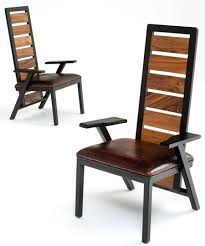 contemporary wood chairs. Delighful Chairs Modern Reclaimed Dining Chair  Wood Chairs And Contemporary U
