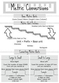 Metric Units Infographic The Unit Metric Units Infographic