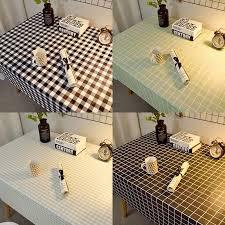 1 pcs pvc tablecloth rectangular living