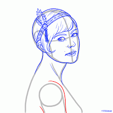 how to draw daisy buchanan from the great gatsby how to draw daisy buchanan from the great gatsby