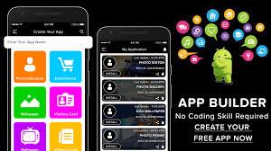 app maker builder creator diy app development 1 0 screenshot 3