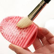 silicone brushes cleaning egg brush egg cosmetic brush cleanser make up makeup brush cleansing tools lb
