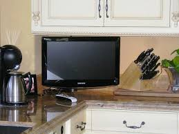 Tv In Kitchen Tv Inside Kitchen Cabinet